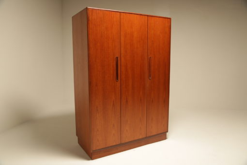 G Plan Fresco Teak Triple Bifold Wardrobe