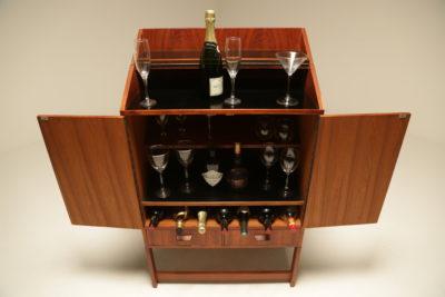 Teak Metamorphic Cocktail Bar