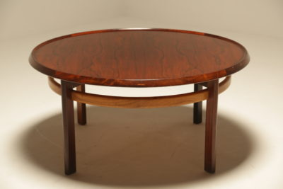 Rosewood Coffee Table by Torbjørn Afdal for Bruksbo
