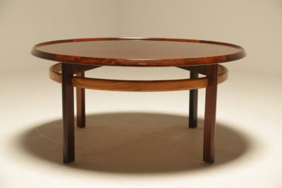 Rosewood Coffee Table by Torbjorn Afdal for Bruksbo