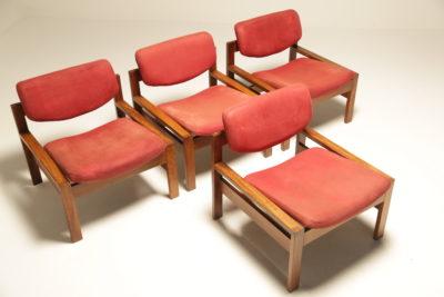 Teak Lounge Chairs by Arthur Edwards for Crannac