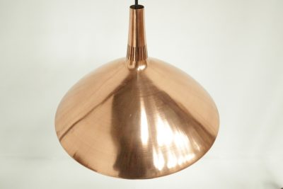 Danish Copper Hanging Lamp Fog & Morup style