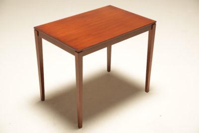 Danish Teak Side Table by Bent Silberg Mobler