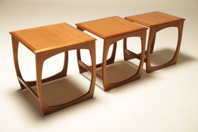 Teak Burlington Nest of Tables by Nathan