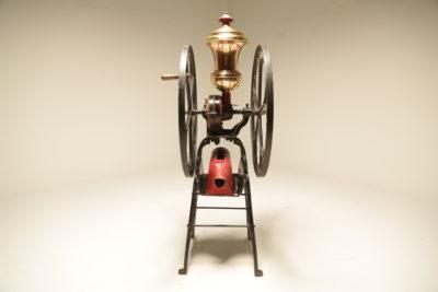 Antique Star Mill Cast Iron Coffee Grinder No.20 Floor Model c.1880