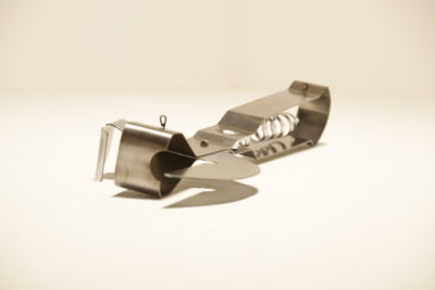 Curtis Jere Giant Can Opener Wall Sculpture