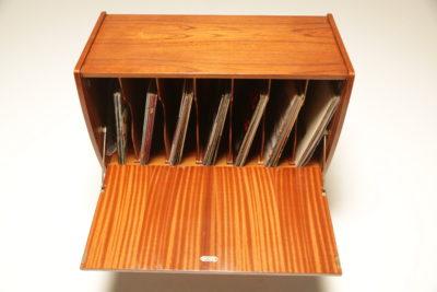 Mid-century Teak Record Cabinet