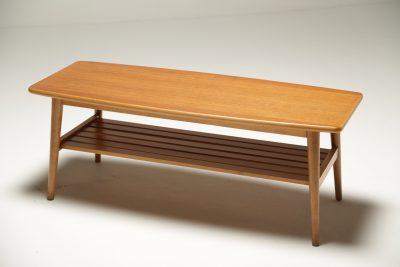 Teak Surfboard Coffee Table vintage table for sale