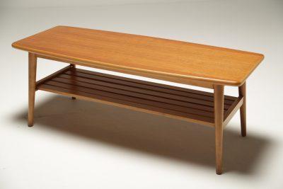 Teak Surfboard Coffee Table the vintage hub