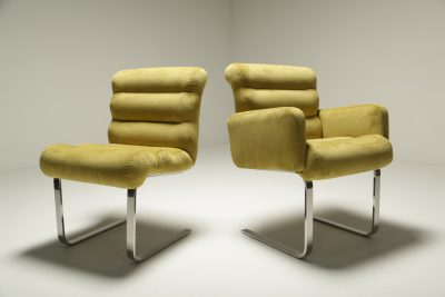 Lugano Dining Chairs by Mariani for Pace Collection NY