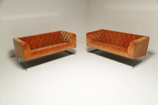 Mid-century Milo Baughman Cantilever Sofa vintage furniture Dublin Ireland