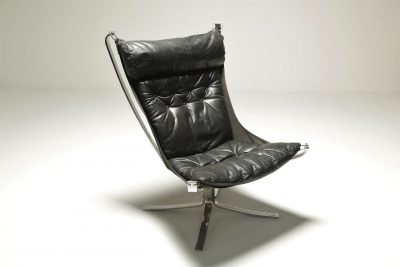 Sigurd Resell Chrome Falcon Chair
