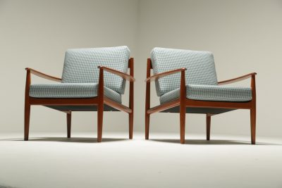 Grete Jalk Model 118 Armchairs for France and Sons the vintage hub