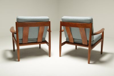 Grete Jalk Model 118 Armchairs for France and Sons