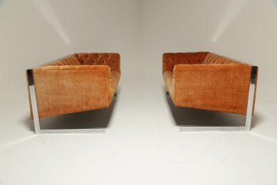 Mid-century Milo Baughman Cantilever Sofa