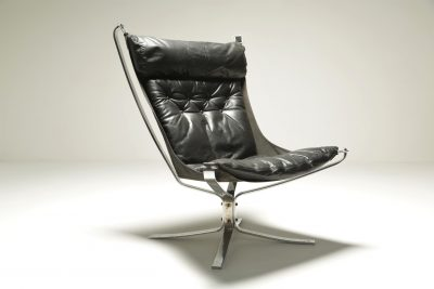 Chrome Falcon Chair by Sigurd Ressell mid-century furniture Dublin
