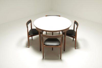 Roundette Dining Set by Hans Olsen for Frem Rojle
