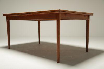 Niels Otto Moller Teak Draw Leaf Dining Table