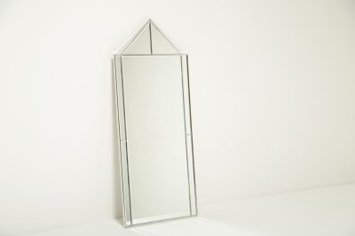 Mid-century Chrome Frame Mirror