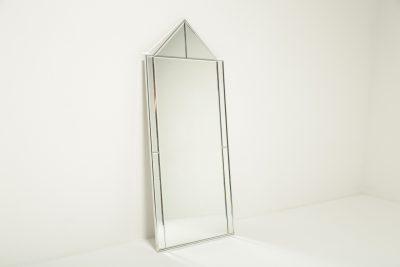 Mid-century Chrome Frame vintage design mirror Mirror