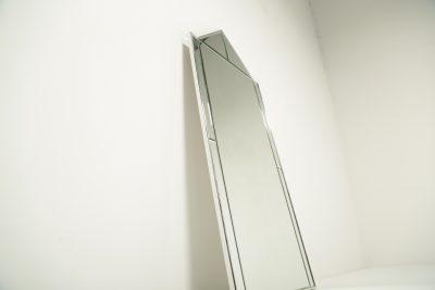 Mid-century Chrome Frame Mirror