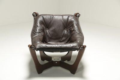 Luna Chair by Odd Knutsen for Hjellegjerde