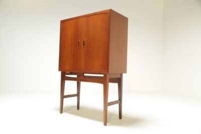 Danish Teak Bar Cabinet with internal light